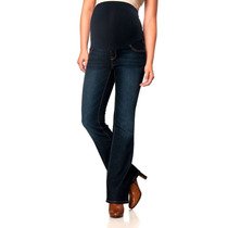 Jeans Maternidad Motherhood Bootcut Talla Chico O S