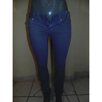 Pantalones American Eagle Skinny T-28 Color Lila Nuevo Orig.