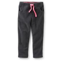 Pantalón Gris Para Niña Tela Polar Carters Talla 6