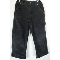 Pantalón De Pana Negro Para Niño