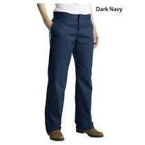 Pantalon Dickies 874 Gabardina Tallas Extras 44x30 Azul Navy