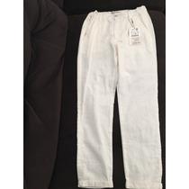 Pantalón Blanco Para Confirmación O 1acomunión