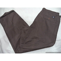 Pantalon Casual Marca Dockers Talla 40 X 30 Color Cafe
