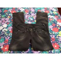 Pantalon De Mezclilla Pepe Jeans Caballero Gris Talla 32x32