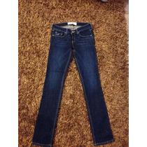 Jeans Para Mujer Hollister (original)