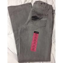 Jeans Pantalón Arizona Casual Recto Boots De La Mujer Plus
