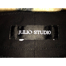 Fino Pantalon De Vestir Julio Color Negro Talla 28