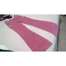 Pantalon De Pana Rosa Para Nena Talla 12 14