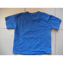 Camiseta Talla Ch Para Niño Color Azul Estampada Marcadisney