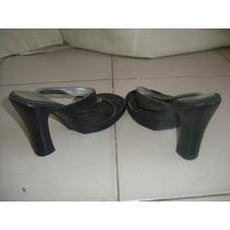 Limipia Closet Zapatillas Negras Marca Andrea Talla 5