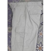 Pantalon Cargo De Gabardina 32x34