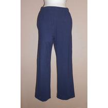 Naturale! Pantalón De Pants O Pijama Azul Marino Talla Chica