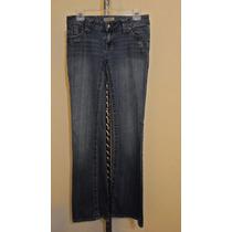 Pantalon De Mezclilla Paris Blues Para Dama Talla 5-30 Azul