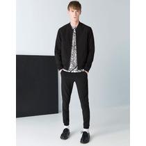Pantalon De Vestir Jogger Bershka Zara