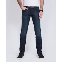 Jeans Usa Works Ideal Para Altos Tallas Extras 44x36 Azul