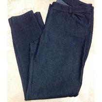 Pantalón Jeans Casual Boggs Gris Skinny Entubado Al Tobillo.