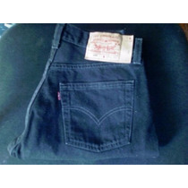 Pantalon Levis 501 Negro Nuevo Sin Etiquetas 29x32