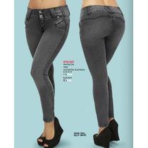 Pantalones Colombianos De Mezclilla Sexy A La Moda Casuales