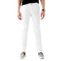 Pantalón Guess Essential Classic-fit Flat-front Talla 31