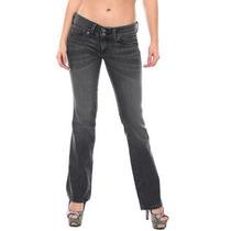 Oggi Jeans Dama Casual Deslavado Cut Boots.