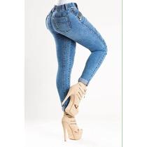 Pantalon Pull Up A Tan Solo $499 Levanta Pompis (nyk5105)