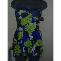 Vestido Hollister Co. T-s Nuevo Floral Orig. Shorts,blusas