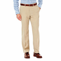 Pantalon Izod Cintura Expandible Tallas Extras 48x29 Khaki