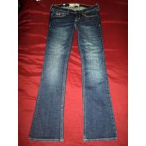 Jeans Hollister Talla 3s Stretch Boot Cut Mex 5-7 Nuevo