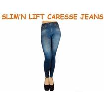 Envio Gratis Elegance Leggins Slimn Lift Caresse Jeans Faja