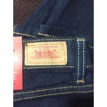 Pantalon Levis 524 Azul Obscuro