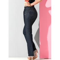 Jeans Andrea Push Up T-26 Stretch Corte Recto