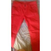 Pantalon Non Stop Color Rojo Para Hombre