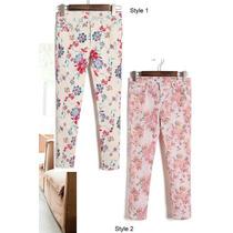 Suku 60008 Jeans Coloridos Skinny Moda Japón $449