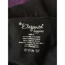 Leggins Elegance Complete Large Color Negro Talla Grande