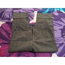 Pantalon Capri D Vestir Bandolino Dama 8 Amer 34 Mex Nuevo