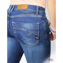 Jeans Caballero Corte Skinny Mezclilla Strech2 - Envíogratis