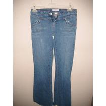 Pantalon Para Dama Talla 3 De Mezclilla Color Azul Claro