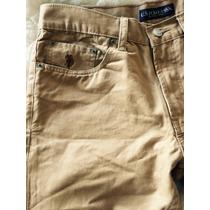 Pantalón Us Polo Assn. 32x34 Corte Recto. Envío Incluido