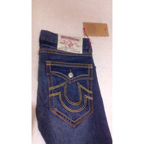 Pantalon - Jeans Marca True Religion T- 36 Seccion Straight