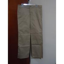 Pantalon D Vestir Chic Nuevo Etiquetado P/dama T/13 Camel