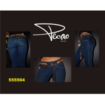Jeans Pecao 100% Original Colombiano Levantapompas Push-up