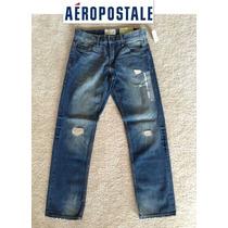 Si Envio Aeropostale Jeans 29x30 Pantalones Mezclilla Padres