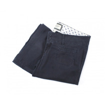 Pantalón Azul Marino Abercrombie & Fitch