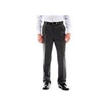 Pantalon Vestir Stafford Tallas Extras 54x32 60% Descuento