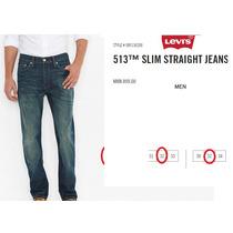 513¿ Slim Straight Jeans Levis
