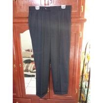 Pantalon De Vestir J. B. Ebrard Negro Talla 44