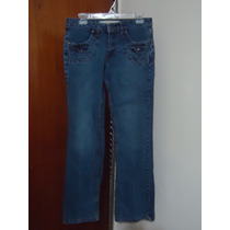 Pantalon De Mezclilla Strech Mossimo Para Dama Talla 9-32