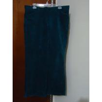 Pantalon D Pants Dama Express T Extra Xl-44 Azul