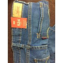 Pantalon Levis 524 Azul Claro
