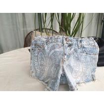 Shorts Para Niña Estilo Grunge,marca Zara Original Talla9-10